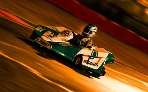 Nelsinho Piquet correndo no Kart das Estrelas Beto Carrero World