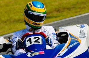 Bruno Senna no Kart das Estrelas no Beto Carrero World