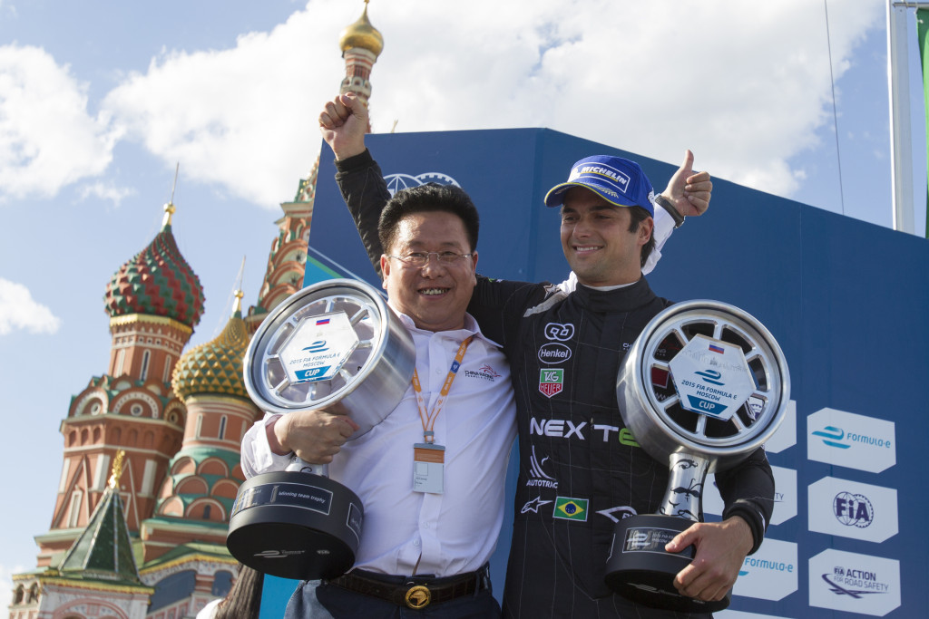 at Formula E Championship, Rd9, Moscow, Russia, 4-6 June 2015.